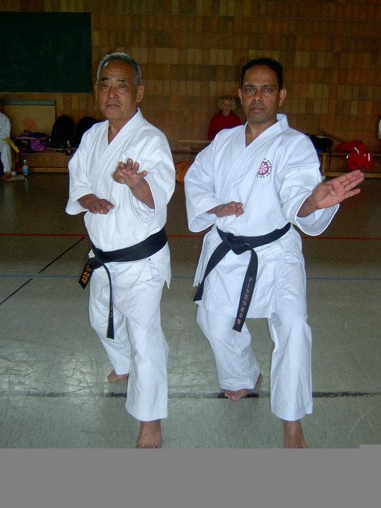 Hanshi Miura and Shihan Minithanthri