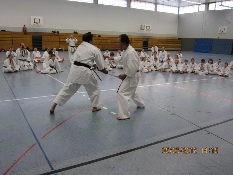 Kyoshi Akira Sato Seminar